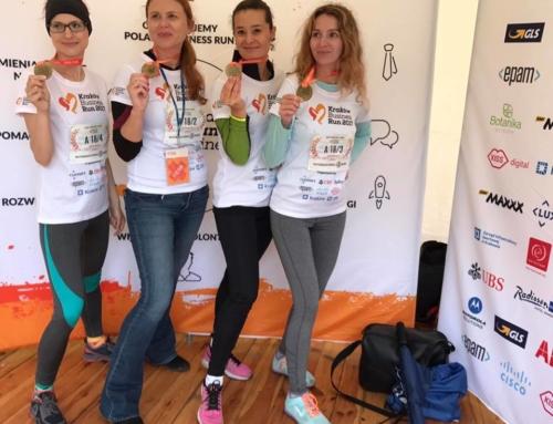 Biegamy z naszym klientem – Fundacją Poland Business Run!